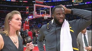 Draymond Stops Interview To Give Montrezl Harrell Respect After Game 6! Warriors vs Clippers Game 6