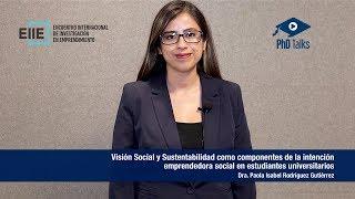 Visión Social y Sustentabilidad como componentes de la intención emprendedora social en estudiantes universitarios