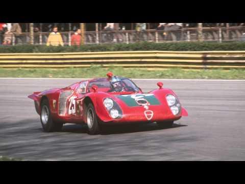 Amazing 1968 Alfa Romeo Tipo 33/2 Daytona