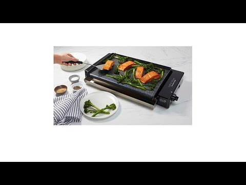 Curtis Stone DuraElectric Nonstick Griddle