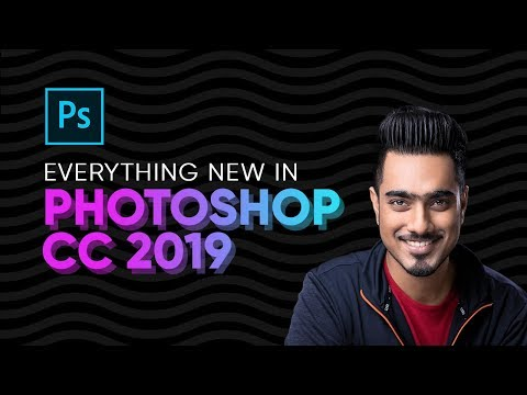 top 20 new features of adobe photoshop cc 2019