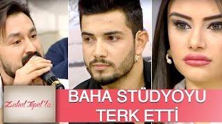 Zuhal Topal'la 102. Bölüm (HD) | Ali - Naz Aşkına Sinirlenen Baha Stüdyoyu Terk Etti!