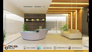 ~DHAKA DECOR~  Modern Corporate Office Interior Design Bangladesh