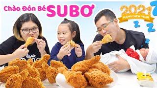 Gia Đình Nhà Susi - LÀM GÀ RÁN KFC TẠI NHÀ ĐỂ CHÀO ĐÓN THÀNH VIÊN MỚI   KFC Chicken Recipe