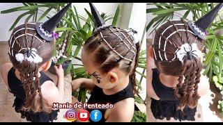 Halloween Hairstyle | Penteado De Halloween