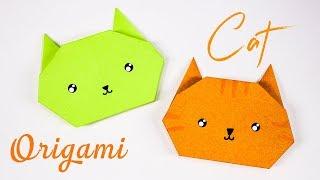 אוריגמי פנים של חתול