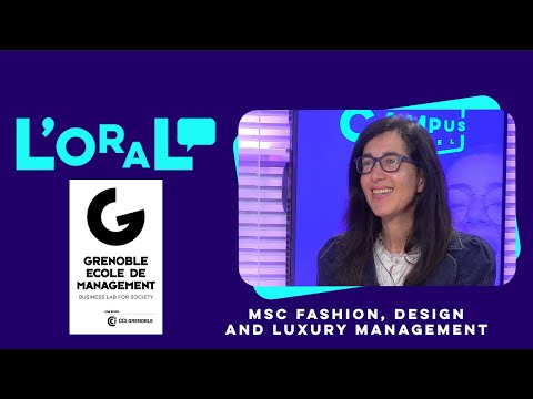 L'oral : Master of Science Fashion Design and Luxury Management