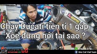 Chạy Ducati tiền tỉ 1 gắp,không xem Xòe đừng hỏi tại sao ? Kỹ Sư Hẻm