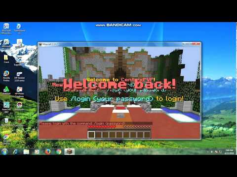 How to login server  in minecraft pc easy