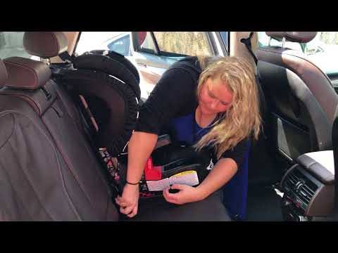 Forward Facing Britax Clicktight Car Seat Install