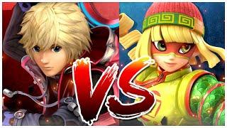 Super Smash Bros Ultimate Versus Min Min Vs Shulk DLC