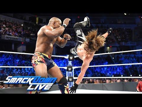 Download AJ Styles vs. Shelton Benjamin: SmackDown LIVE, Oct. 9, 2018 HD Mp4 3GP Video and MP3