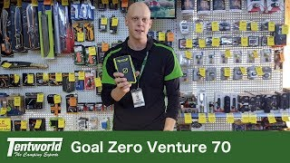 Goal Zero Venture 70 Portable Recharger Battery Pack | Perfect for running your electrics outdoors!