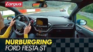 Best Of Nürburgring : Ford Fiesta ST 2019 On Wet Track (ESP Off, Performance Package)