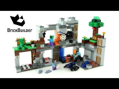 Vidéo LEGO Minecraft 21147 : Les aventures souterraines