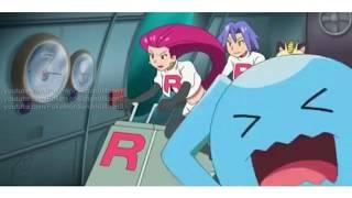 Dhelmise  - (Pokémon) - Pokémon Sun & Moon Episode 40 - Team Rocket Meets Dhelmise [English Subbed HD]