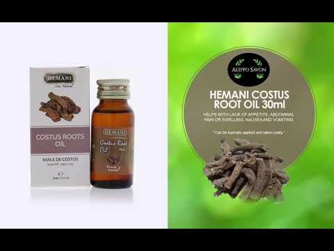Costus Oil von Hemani Vorstellungsvideo