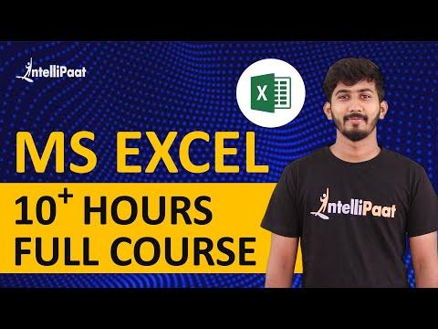 Microsoft Excel Tutorial | Excel Training | Intellipaat - YouTube