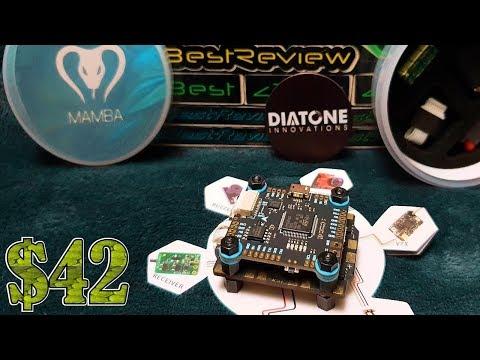 ✔ Полетный контроллер Diatone MAMBA F405 + Регулятор 40A 4in1! Нереально низкая цена 42$!