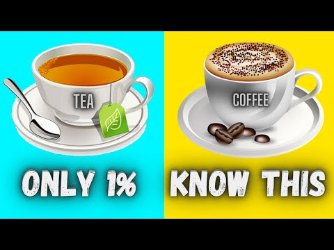 Tea vs Coffee | Amazing Facts | Advantages & Side Effects | The Healthiest