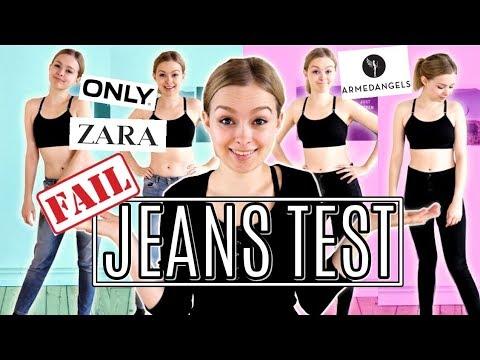 Ich teste LIVE Jeans Hosen und trage plötzlich Größe 42?