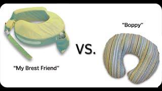 Nursing Pillow. My Brest Friend vs Boppy. What to Buy?