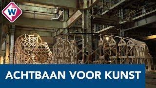 Oscar Peters bouwt gigantische achtbaan en 'monster' in Electriciteitsfabriek - OMROEP WEST
