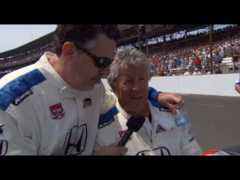 Celebrity Guest Adam Carolla Leads at the Indy 500