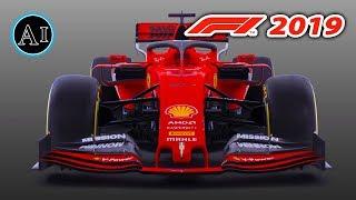 F1 2019 Ferrari Launch - First Look