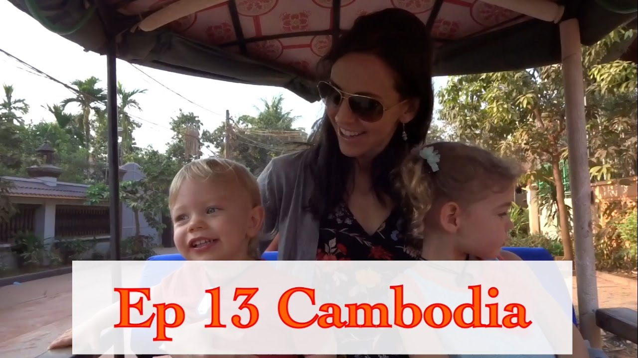 Ep 13: Cambodia with Kids - Bamboo Train, Bat Caves, Emotional Killing Caves & More