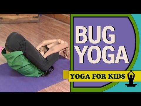 Yoga for Kids: Creepy crawly Insect positions (English)