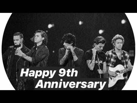 9th Anniversary One Direction by Italian Fans!
