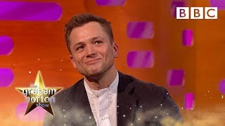 Why Elton John Called Taron Egerton A Little Sh*t   BBC The Graham Norton Show