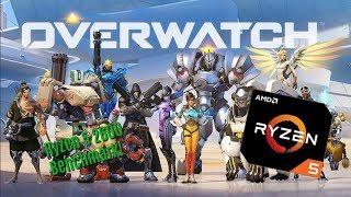 GeForce GTX 960 -- AMD Ryzen 5 2600 -- Overwatch FPS Test