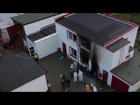 Five Teens Killed In Fire At Poland 'Escape Room' Birthday Party | NBC Nightly News