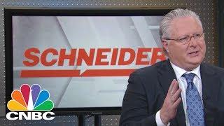SCHNEIDER ELECTRIC - Schneider National CEO: Driving Higher? | Mad Money | CNBC