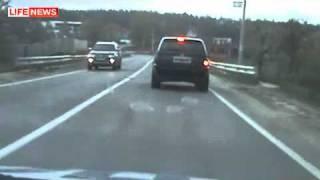 Погоня за BMW Х5 со стрельбой, пострадал мотоциклист