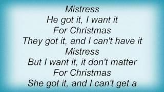 Ac Dc - Mistress For Christmas Lyrics