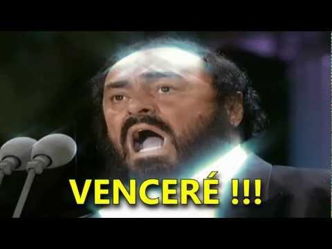 Pavarotti- Nessun Dorma (Subtitulada Español) HD (Los Ángeles: 1994)