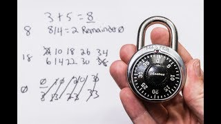 [198] Close Up On How To Decode A Dial Combination Lock In 8 Attempts Or Less