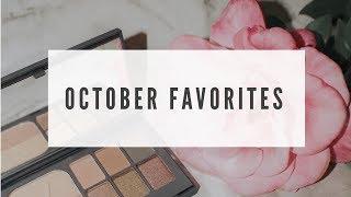 October Favorites Video