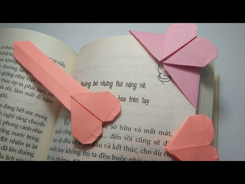 Origami Bookmarks - How to make an origami Bookmarks