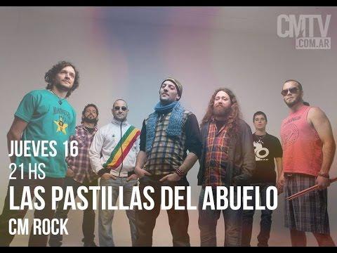 Las Pastillas del Abuelo video Entrevista CM Rock - Abril 2015