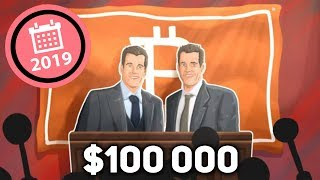 Winklevoss Twins: Bitcoin Will Hit $100k in 2019 - Here's Why