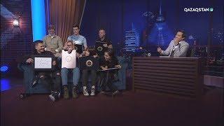 Túngi studio (Түнгі студия) - Назима Жәнібекова және «Песни» жобасының қатысушылары