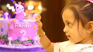 My Daughter's Birthday Vlog | ShrutiArjunAnand