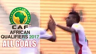 CAF World cup Qualifiers - All Matchday 5 Goals