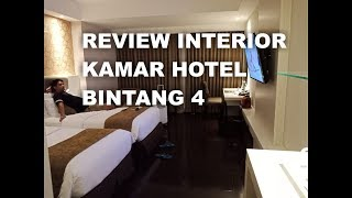 REVIEW INTERIOR KAMAR HOTEL DI JOGJA.