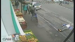 Shocking CCTV shows man killed by single punch