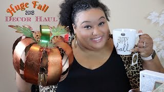 🍁🎃 Fall Decor Haul 2018🎃🍁| Home Goods, At Home Store, Dollar Tree, Burlingtons, Ross